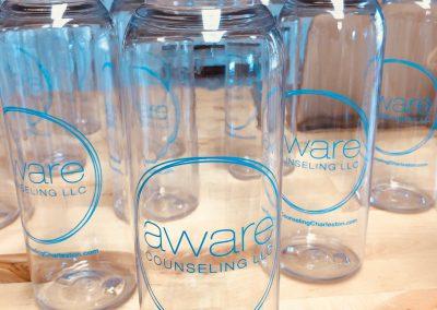 Aware Counseling Water Bottles